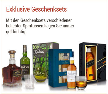 Exklusive Spirituosen Geschenksets 
