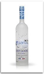 Grey Goose Vodka Flasche