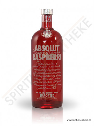 Vodka - Absolut Raspberri
