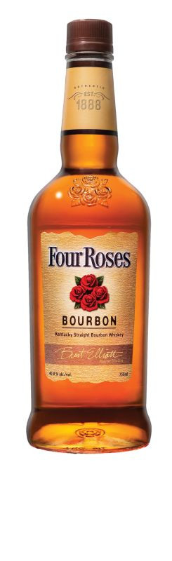 Whisky/Whiskey - Four Roses Bourbon 0,7L (Abb. zeigt 0,7L, geliefert wird 1L)