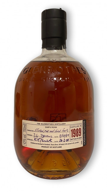 Whisky-Shop | Glenrothes RESTRICTED RELEASE 1989-2000 10 Jahre 0,7L - ohne Tube / Dose