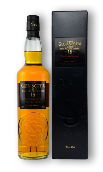 Glen Scotia 15 Jahre 0,7L Campbeltown Single Malt