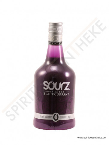 Likör Shop - Sourz Blackcurrant