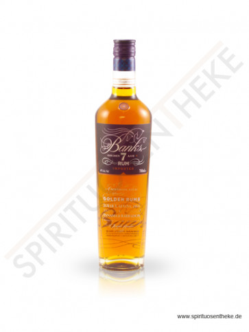 Banks 7 Island Golden Age Rum