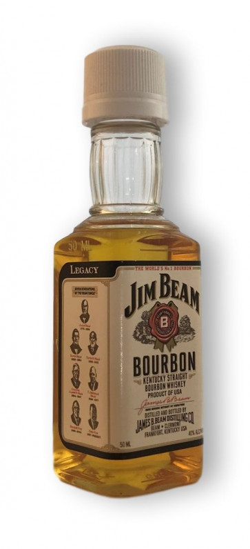 Whiskey-Shop | Jim Beam Miniatur (PET) 0,05L - 2