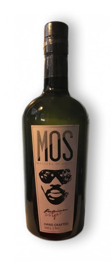 Gin-Shop   MOS - Masters of Spices Premium Dry Gin Handcrafted 0,5L - Originalbild