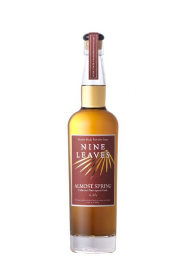 """Nine Leaves """"Almost Spring"""" PX Cask Matured - Sincerely Made Rum from Japan 0,7L"""