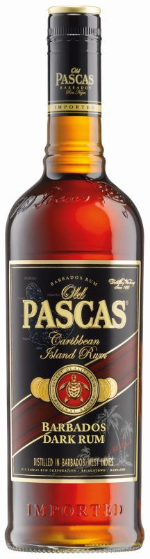 Rum Shop - Old Pascas Dark 1L 37,5%