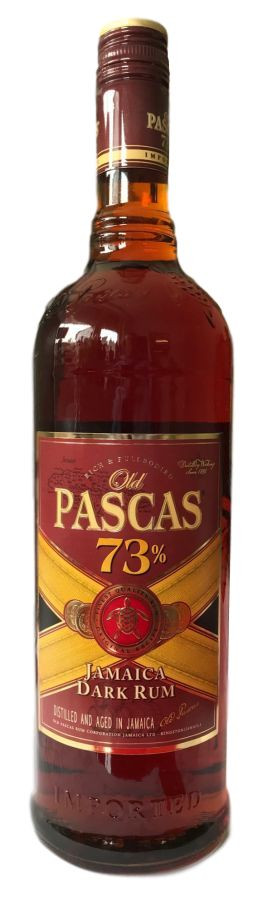 Rum Shop - Old Pascas Dark 1L 73%