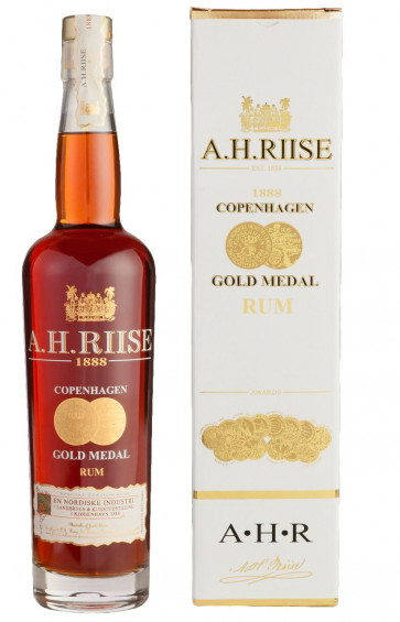 A.H. Riise Danish Navy Rum 1888 Gold Medal  0,7L 40%