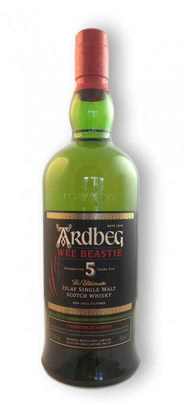"""Ardbeg Wee Beastie 5 Jahre 0,7L """"A Monster of a Dram"""" - 2"""