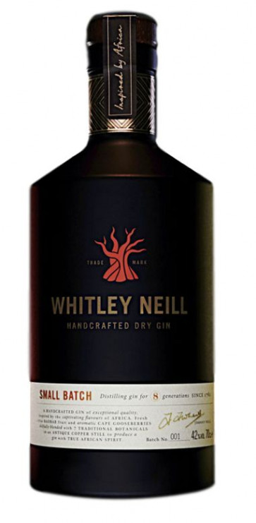 Whitley Neill Handcrafted Dry Gin - Small Batch 0,7L