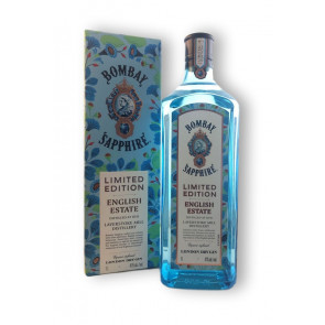 Gin-Shop | Bombay Sapphire Gin LIMITED EDITION ENGLISH ESTATE 41% - 1L Günstige Literflasche