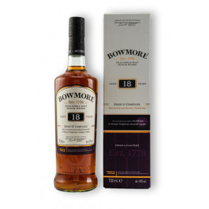 Whisky | Whisky Shop  - Bowmore 18 Jahre - Deep & Complex 0,7L
