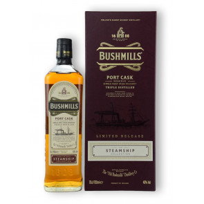 Bushmills Steamship Collection #2 Port Cask Reserve - 0,7L - 4