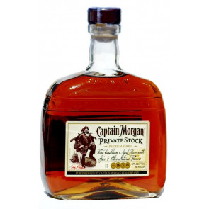Rum Shop - Captain Morgan Private Stock - 1,0 L