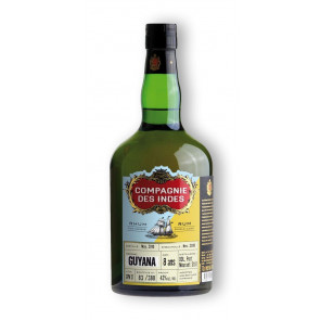 Rum Shop | Compagnie des Indes Guyana 8 Jahre - DDL Port Mourant Diamond Distillers Single Cask Rum - 0,7L  - 2