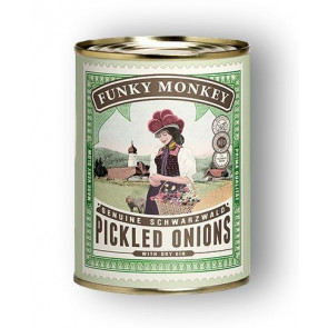 Funky Monkey - Genuine Schwarzwald Pickled Onions with Dry Gin