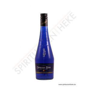Likör Shop - Giffard Curacao Bleu Liqueur - Orange