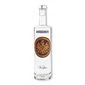 Vodka-Shop | Iordanov Vodka - EINTRACHT Edition GOLD-schwarz - Vodka 0,7L  - 2