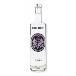 Vodka-Shop |Iordanov Vodka - EINTRACHT Edition SILBER-schwarz - Vodka 0,7L