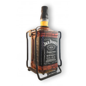 Jack Daniels Old No. 7 Tennessee Whiskey 3L in Cradle / Schaukel / Wiege