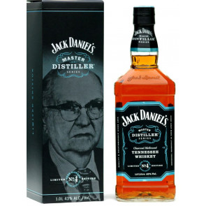 Jack Daniels Master Distiller No.4 Whiskey - 1,0 Liter