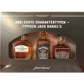 Jack Daniels Miniaturenset Gentleman Jack - Old No. 7 - Single Barrel Select je 0,05L