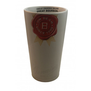 Glas-Shop | Jim Beam - Der Becher - Great Friends share Great Bourbon - Keramik ca 0,3L - 3