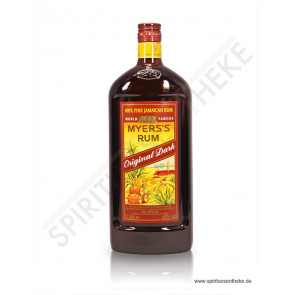 Rum Shop - Myers's Rum - Original Dark - 1,0 L Flasche