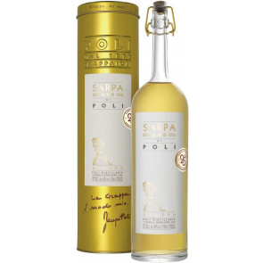 "Grappa Sarpa ""Oro"" (ehemals Barrique di Poli) - 0,7L"